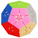 ShengShou TANK Frosted 2x2x2 Megaminx Stickerless Magic Cube