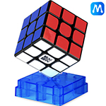 MoYu WeiLong WR M 3x3x3 Magnetic Speed Cube Black