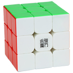 YongJun YuLong V2 M 3x3x3 Magnetic Magic Cube Stickerless