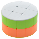 CB 2-Layer Cylinder Magic Cube Stickerless