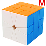 YuXin Little Magic M SQ-1 Magnetic Magic Cube Stickerless