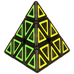 QiYi Dimension Pyraminx Magic Cube Puzzle Toy