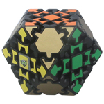 LanLan Gear 14-side Tetradecahedra Magic Cube Black