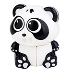 YuXin Mini Panda 2x2 Magic Cube Keychain