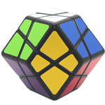 Lanlan 4-Axis Dodecahedron Cube Black