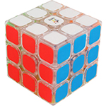 YuXin Kylin V2 3x3x3 Speed Cube Transparent
