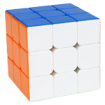 YongJun GuanLong V3 3x3x3 Stickerless Magic Cube