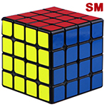 QiYi Valk4 M 4x4x4 Speed Cube Strong Magnetic Version Black