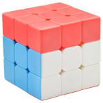 FanXin Red Cap 3x3x3 Magic Cube Puzzle