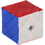 DaYan 4-Axis 7-Rank Stickerless Magic Cube Puzzle