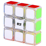 QiYi 1x3x3 Floppy Cube Transparent