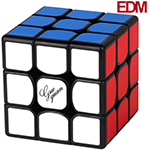 GuoGuan Yuexiao EDM Magnetic 3x3x3 Speed Cube 56mm Black
