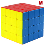 QiYi Valk4 M 4x4x4 Speed Cube Standard Magnetic Version Blac...