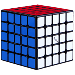 QiYi Valk5 M 5x5x5 Magnetic Speed Cube Black