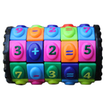 Mathematical Rotate and Slide Puzzle Magic Tower Black