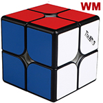 QiYi Valk2 M Magnetic 2x2x2 Speed Cube Black Weak Magnetic V...