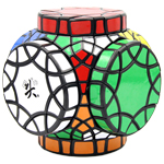 DaYan 30-Axis Wheels of Wisdom Magic Cube Black