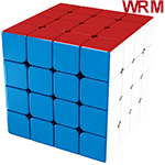MoYu AoSu WR M 4x4x4 Magnetic Speed Cube Stickerless