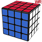 MoYu AoSu WR 4x4x4 Speed Cube Black