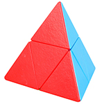 ShengShou Mr. M 2x2 Magnetic Pyraminx Cube Stickerless