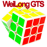 MoYu Weilong GTS 3x3x3 Speed Cube White