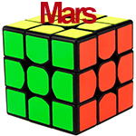 SENHUAN Mars 3x3x3 Speed Cube Black