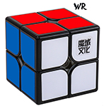 MoYu Weipo WR 2x2x2 Speed Cube 50mm Black