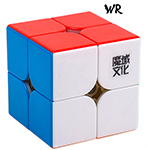 MoYu Weipo WR 2x2x2 Speed Cube 50mm Stickerless