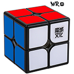 MoYu Weipo WR M 2x2x2 Magnetic Speed Cube 50mm Black