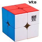 MoYu Weipo WR M 2x2x2 Magnetic Speed Cube 50mm Stickerless