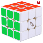 QiYi Thunder Clap V3 M 3x3x3 Magnetic Speed Cube White