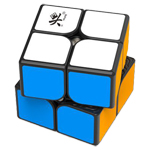 DaYan TengYun M 2x2x2 Magnetic Speed Cube Black