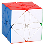 Classroom Maple Leaves Skewb Magic Cube Stickerless