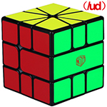 QiYi X-Man VOLT V2 SQ-1 Speed Cube Magnetic(/UD) Black