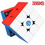 GAN 356 XS Speed Cube Stickerless Version Full-Bright