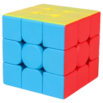 Cubing Classroom Meilong 3C Frosted 3x3x3 Magic Cube Sticker...
