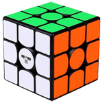 QiYi MoFangGe WuWei M 3x3x3 Magnetic Magic Cube Black
