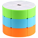 QiYi Cylinder 3x3x3 Magic Cube Stickerless