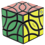 LanLan Gemini 4-Corner Magic Cube Black