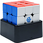 GAN 356i Play Intelligent Speed Cube, Stickerless Version Full-Bright