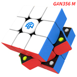 GAN356 M Magnetic 3x3x3 Stickerless Speed Cube, Light Version