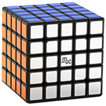 YongJun MGC 5 Magnetic 5x5x5 Speed Cube Black