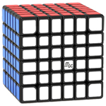 YongJun MGC 6 Magnetic 6x6x6 Speed Cube Black
