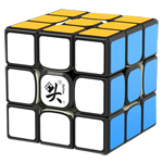 DaYan TengYun V2 M Numerical 3x3x3 Magnetic Speed Cube Black