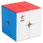 YuXin Little Magic M Magnetic 2x2x2 Magic Cube Stickerless