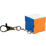 CB Mini Skewb Cube Keychain Stickerless