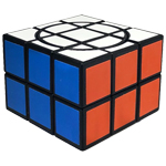 DianSheng Crazy 2x3x3 Magic Cube Puzzle Black