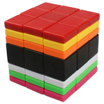 C4U Mixed Color 3x3x7 Magic Cube Randomly Mixed