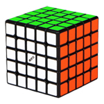 QiYi M 5x5x5 Magnetic Magic Cube Black