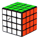 QiYi M 4x4x4 Magnetic Magic Cube Black